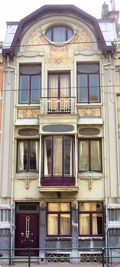 Art Nouveau design, Belgium