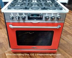 Capital Ranges Orange Stove Range