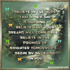 Inspirational You Believe picture