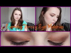 Evening Bronze Eye Makeup Tutorial Using Sleek Eyeshadows