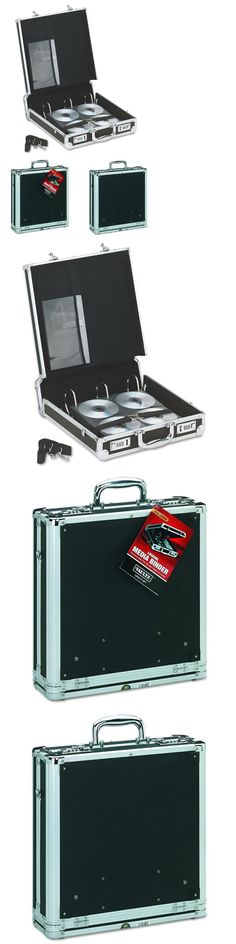 CD DVD and Blu-ray Discs: Vaultz Locking Media Binder, 200 Cd Dvd Capacity, Black With Chrome Accents, 14 -> BUY IT NOW ONLY: $45.28 on eBay!
