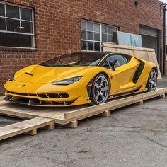 Lamborghini Centenario delivered as promised. . .