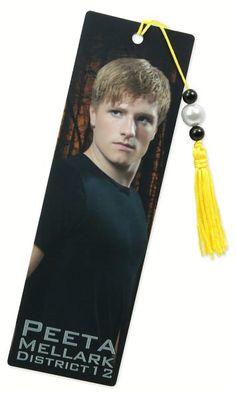 Hunger Games Peeta Bookmark  by NECA