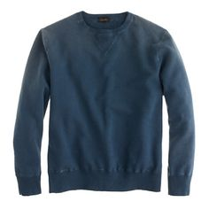 Jcrew Chimala® vintage sweatshirt. Reminds me of the 90s in a good way (obviously 90s always = amazing)! This would be perfect if it was a forest green. Everyone looks great in that color btw.