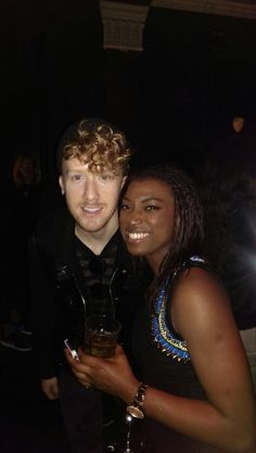 At the Kevin Hart after party, (October 2014) in the VIP section, behind the barriers, this talented fellow caught my eye and I was lucky enough to get his attention to get a picture! He's always so humble ❤️ Love him #Daley #DaysandNights #HartbeatWeekend