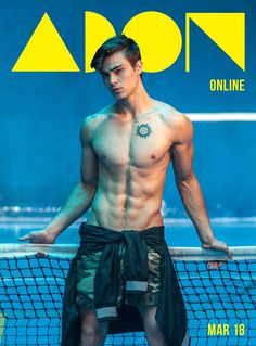 Der Stefashionist: Fashion, Passion & Models: Bruno Santana covers ADON Magazine