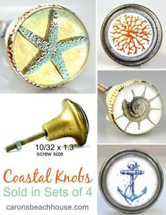 items similar to beach glass knobs ceramic earthenware sea glass