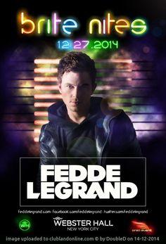 4 Floors of SoundThe Grand Ballroom + Balcony:brite nites w Fedde le GrandThe Marlin Room:Sean Sharp + Special guests(Hip Hop, Top 40, Mashu