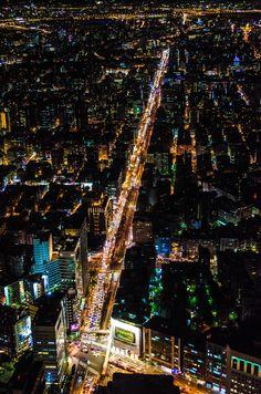 Taipei at Night, Taiwan