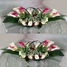 Creative Flower Arrangements, Floral Arrangements, Wedding Proposals, Floral Wreath, Table Settings, Lily, Wreaths, Table Decorations, Modern Floral Arrangements