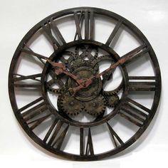 Ashton Sutton Classic Gear Wall Clock