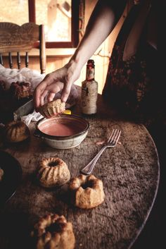 Mini Nutmeg-Crème Fraîche Bundt Cakes with Angostura Glaze