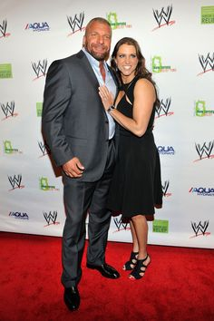 Paul Levesque & Stephanie McMahon Levesque..!! THE BEST COUPLE IN WWE..!! FOREVER.. My SISTER...!! Steph..!! Janet*