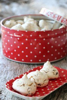 14 2 til alle Pudding Desserts, Cookie Desserts, No Bake Desserts, Baking Desserts, Christmas Sweets, Christmas Baking, Xmas, Christmas Cookies, Sweet Dumplings