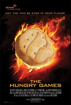 The The Hunger Games: Mockingjay just came out, but there's something else Girl Scouts are getting really excited about ... the cookies are coming! Are you ready? #HungryGames