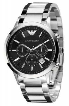 Relógio Emporio Armani Classic Chronograph Mens Watch AR2434 #Relogios #EmporioArmani