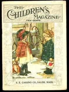 The Children's Magazine, Clara M. Burd, cover artist
