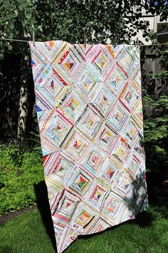 Cool Selvage Quilt by Pleasant Home, via Flickr
