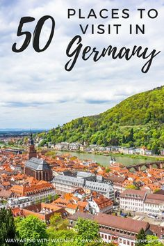 This ultimate Germany bucket list is comprised of 50 places to visit across the country! For amazing travel in Europe. Voyage Europe, Europe Travel Guide, Backpacking Europe, Travel Guides, Destination Voyage, European Destination, European Travel, Cool Places To Visit, Places To Travel