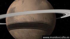 Marte tendrá anillos como los de Saturno