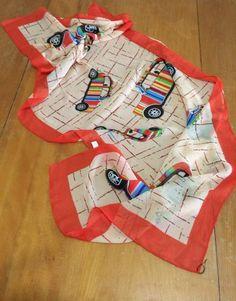 Round She Goes - Market Place - Paul Smith London iconic 'Mini' silk scarf
