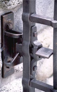 forged gate latch
