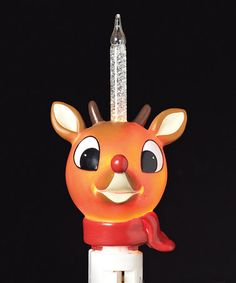 Look at this #zulilyfind! Rudolph the Red-Nosed Reindeer Scarf Night-Light #zulilyfinds