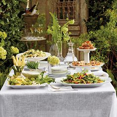 easy, breezy, summer party (Southern Living)