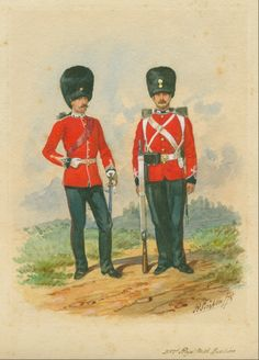 British; The Royal Regiment of Welch Fuzileers, c.1878 by R.Simkin