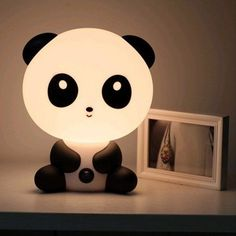 Panda lamp! So cute!