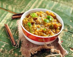 Vegan Richa: Fat-free Red Lentil Stew with Garlic and Shallots. Masoor Daal. Vegan glutenfree