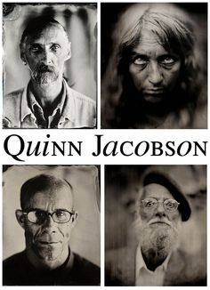 Quinn Jacobson is a wet plate collodion photographer, an old and almost forgotten process that was invented in 1851.  If you have 20 minutes to kill, go on over to Quinn's website by clicking on the above photo, scroll down to the bottom of the page and watch the video.  He explains and shows you the process on how he makes his wet plates, but what is even more fascinating is his story behind the images he made for his book PORTRAITS FROM MADISON AVENUE.
