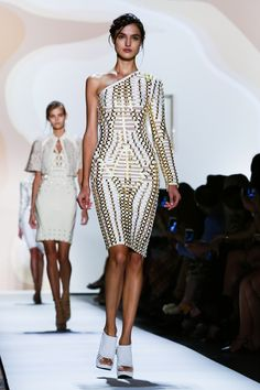 Hervé Léger by Max Azria Ready To Wear Spring Summer 2016 New York - NOWFASHION