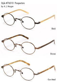 Prospectors: AJ Morgan Eyewear - Fashion Eyewear - Designer Reading Glasses - Reading Glasses