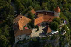 Блед, Словения. Замок