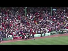 Neil Diamond Sings Sweet Caroline Live at Fenway Park April 20, 2013