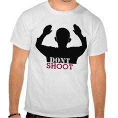 hands up dont shoot t-shirt