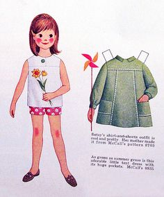 ♥ (ू•ᴗ•ू❁)                                                              Betsy McCall paper doll by jarmie52