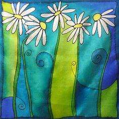 pintura sobre seda - Buscar con Google