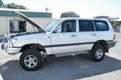 Toyota Landcruiser Wagon 8 seater....GXL.....100 Series.....Turbo Diesel......Auto.....includes CB Radio....Navman....electric windows....rear seats have been removed (can be easily put back) 235,044kms....Full service history.....recently serviced at 235029kms....Lift kit added....Great tow/family vehicle..3.5T towing capacity braked...Reg: WKY-033...Inspection Welcome....lot 118 Lacey Drive Aldinga Beach SA 5173.....PH: 08 71232612.....Aldinga Beach Motohomes MVD: 263585 $26,999.00 AUD