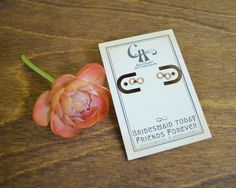 """-1-5 pairs of Rose Gold Fill Infinity Post Earrings on Display card  -14K Rose Gold Fill  -Post Style Earring  -Infinity  -Hypoallergenic   -3/8"""" wide       Shop this product here: spreesy.com/CatHornAccessory/178   Shop all of our products at http://spreesy.com/CatHornAccessory      Pinterest selling powered by Spreesy.com"""