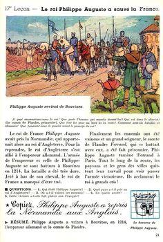 Le roi Philippe Auguste a sauvé la France