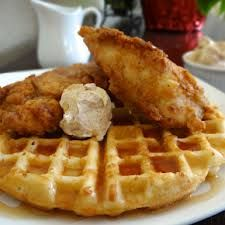 Southern Food - Chicken & Waffles, why you ask??.. cause it's just that good. :)