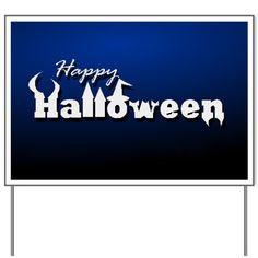 Happy Halloween! Yard Sign