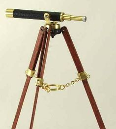 Good Sam Showcase of Miniatures Show; October 10-11, 2014; San Jose, CA: Class: Accessories - A Celestial Telescope by Nancy Quinby.