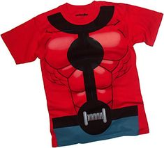 Costume -- Ant-Man Movie Adult T-Shirt, Small @ niftywarehouse.com
