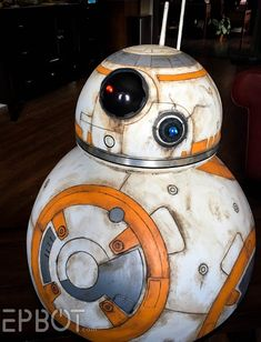 EPBOT: Star Wars DIY: We Built BB-8! For Cheap!