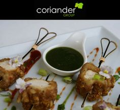 Delicious Indian wedding cuisine in coriander Manchester. #CorianderGroup