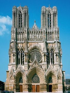 Reims Cathedral, Notre Dame, Arch, Traveling, Building, Nature, Travel, Buildings, Arches