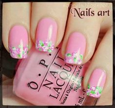 25 Inspirational Nail Art Design Ideas - World inside pictures Creative Nail Designs, Simple Nail Art Designs, Beautiful Nail Designs, Cute Nail Designs, Beautiful Nail Art, Easy Nail Art, Creative Nails, Cute Nails, Pretty Nails